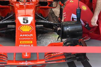 Ferrari floor technical detail