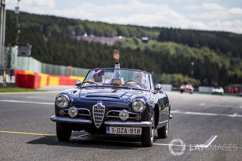Charles Leclerc, Sauber, parada kierowców