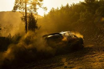 Mads Ostberg, Torstein Eriksen, Citroën World Rally Team Citroën C3 WRC McKlein