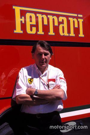 John Barnard, Ferrari-Designer