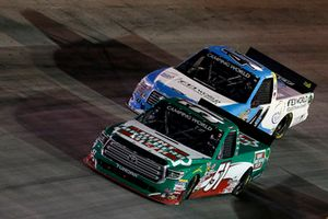 Christopher Bell, Kyle Busch Motorsports, Toyota Tundra Hunt Brothers Pizza Ben Rhodes, ThorSport Racing, Ford F-150 FEI World Equestrian Games