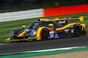 #34 Team Virage Ligier JS P3 - Nissan: Henning Enqvist, Jacob Rattenbury, JM Littman