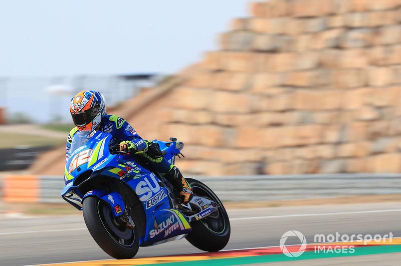 9. Alex Rins, Team Suzuki MotoGP