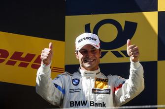 Podium: Nummer twee Bruno Spengler, BMW Team RBM