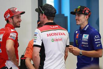 Andrea Dovizioso, Ducati Team, Cal Crutchlow, Team LCR Honda, Maverick Viñales, Yamaha Factory Racing