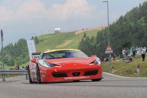 Stefano Artuso, Ferrari 458 Evo, Superchallenge