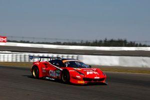 #7 HB Racing Ferrari 488 GT3: Alfred Renauer, Luca Ludwig