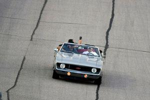 Rick Hendrick parade car