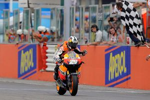 Yarış galibi Dani Pedrosa, Repsol Honda Team