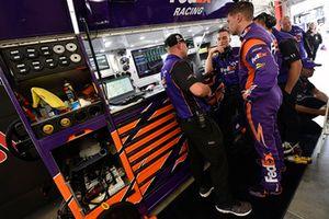 Denny Hamlin, Joe Gibbs Racing, Toyota Camry FedEx Office e Michael Wheeler