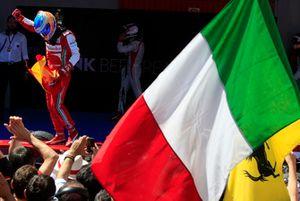 Yarış galibi Fernando Alonso, Ferrari