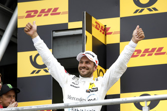 Podium: second place Gary Paffett, Mercedes-AMG Team HWA