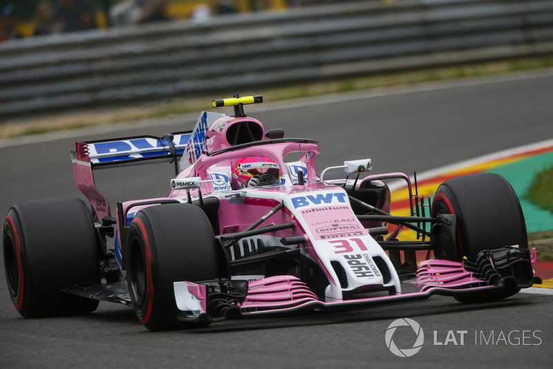 3. Esteban Ocon, Racing Point Force India VJM11