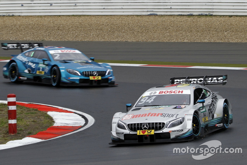 9. Pascal Wehrlein, Mercedes-AMG Team HWA, Mercedes-AMG C63 DTM