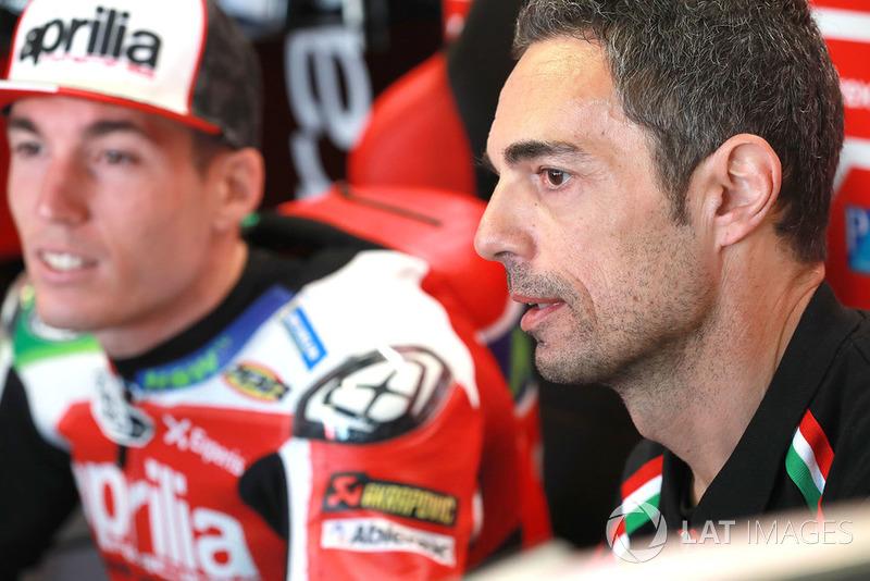 Matteo Caprara - Lorenzo Savadori, Aprilia Racing Team Gresini