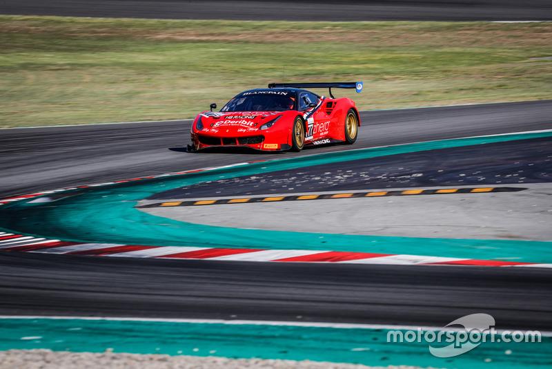 #777 Team HB Racing Ferrari 488 GT3: Jens Liebhauser, Florian Scholze, Luca Ludwig