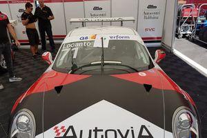 La Porsche 911 GT3 Cup di Diego Locanto, AB Racing