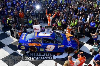 Победитель Чейс Эллиотт, Hendrick Motorsports Chevrolet