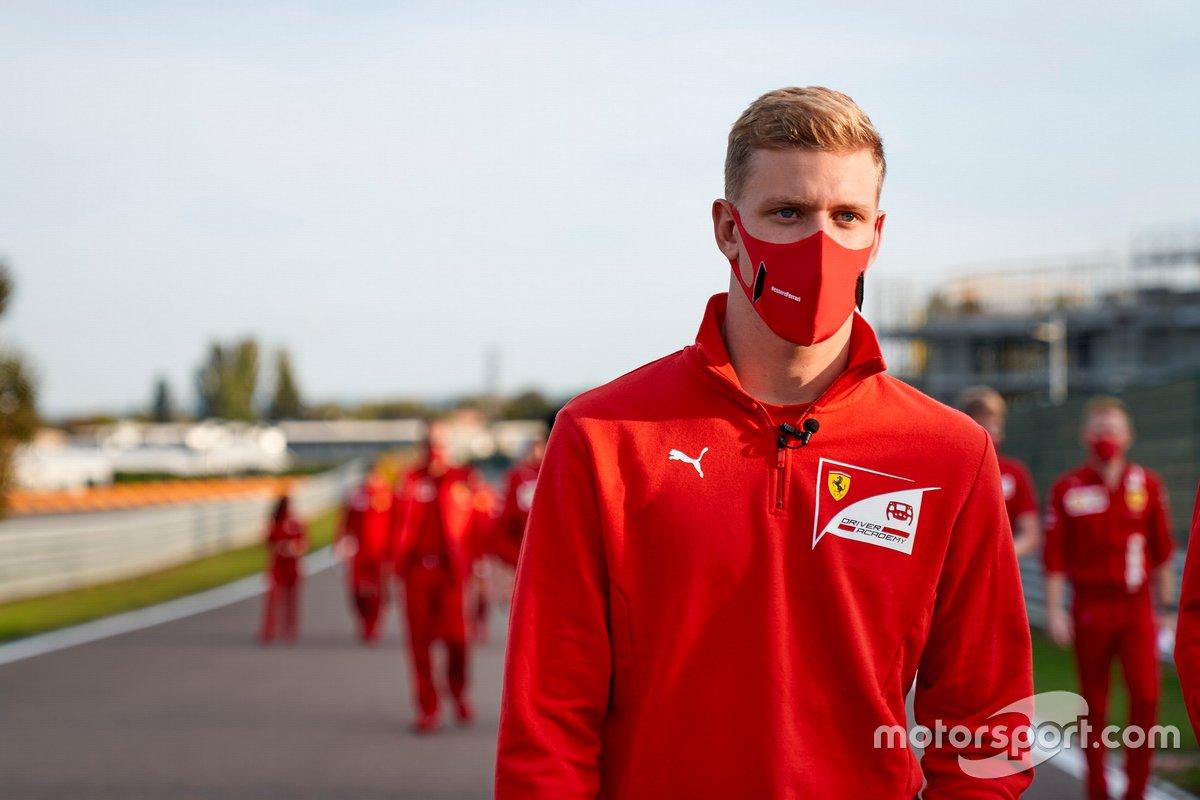 Mick Schumacher, Ferrari Sürücü Akademisi