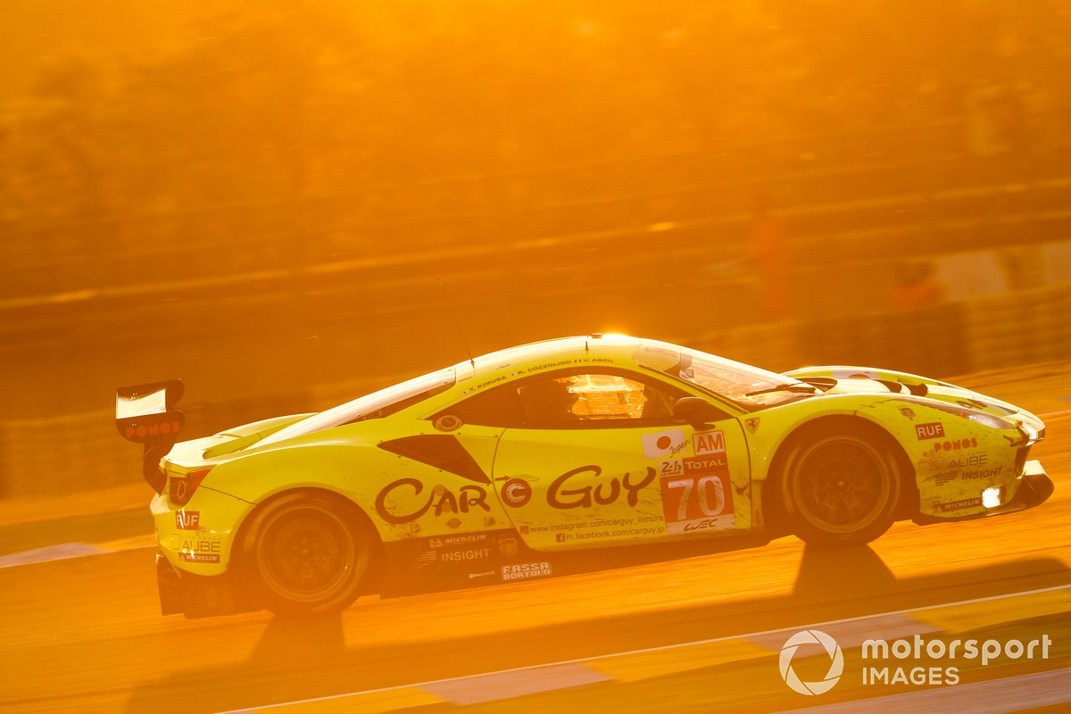 #70 MR Racing Ferrari 488 GTE EVO: Takeshi Kimura, Vincent Abril, Kei Cozzolino
