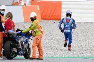 Alex Rins, Team Suzuki MotoGP, homenaje a Luis Salom