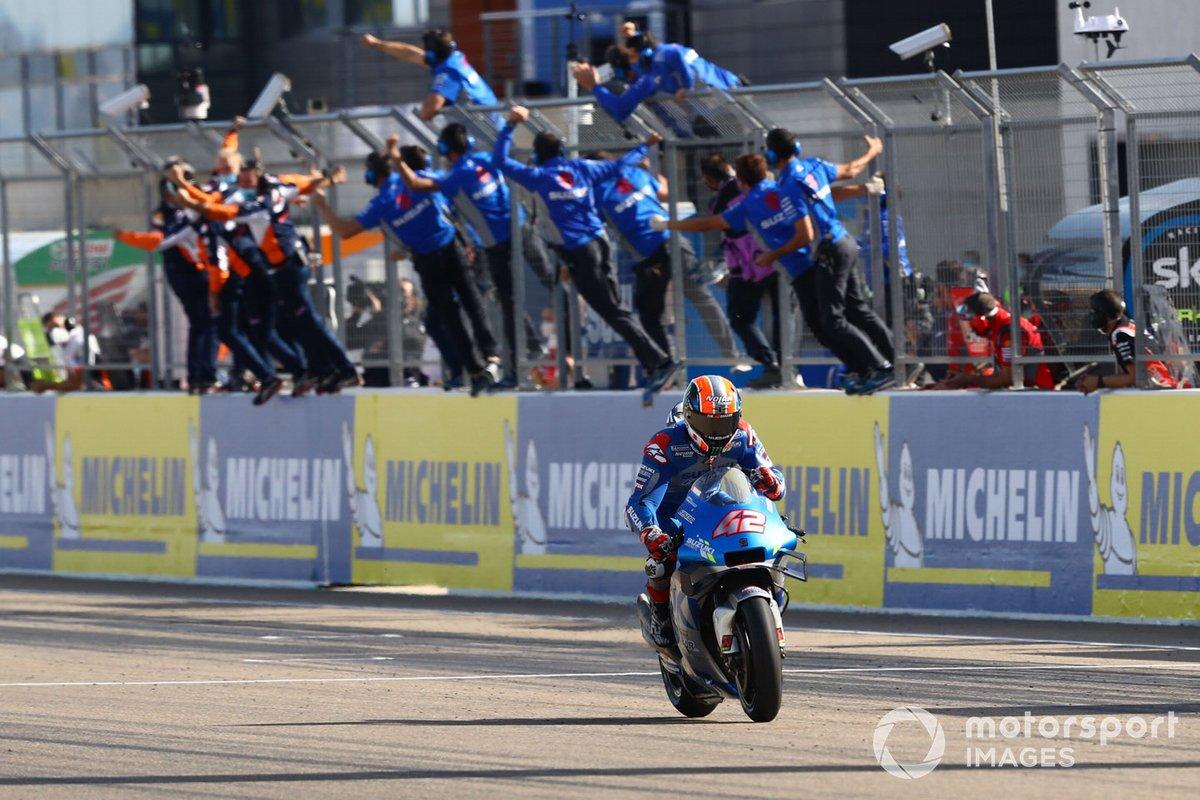 Алекс Ринс, Team Suzuki MotoGP (1)