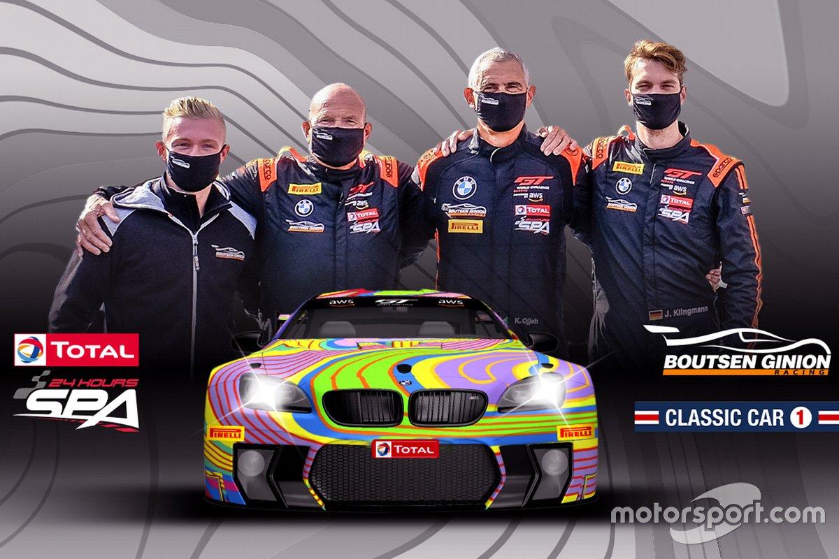 Karim Ojjeh, Gilles Vannelet, Jens Klingmann, Benjamin Lessennes, Boutsen Ginion Racing, BMW M6 GT3