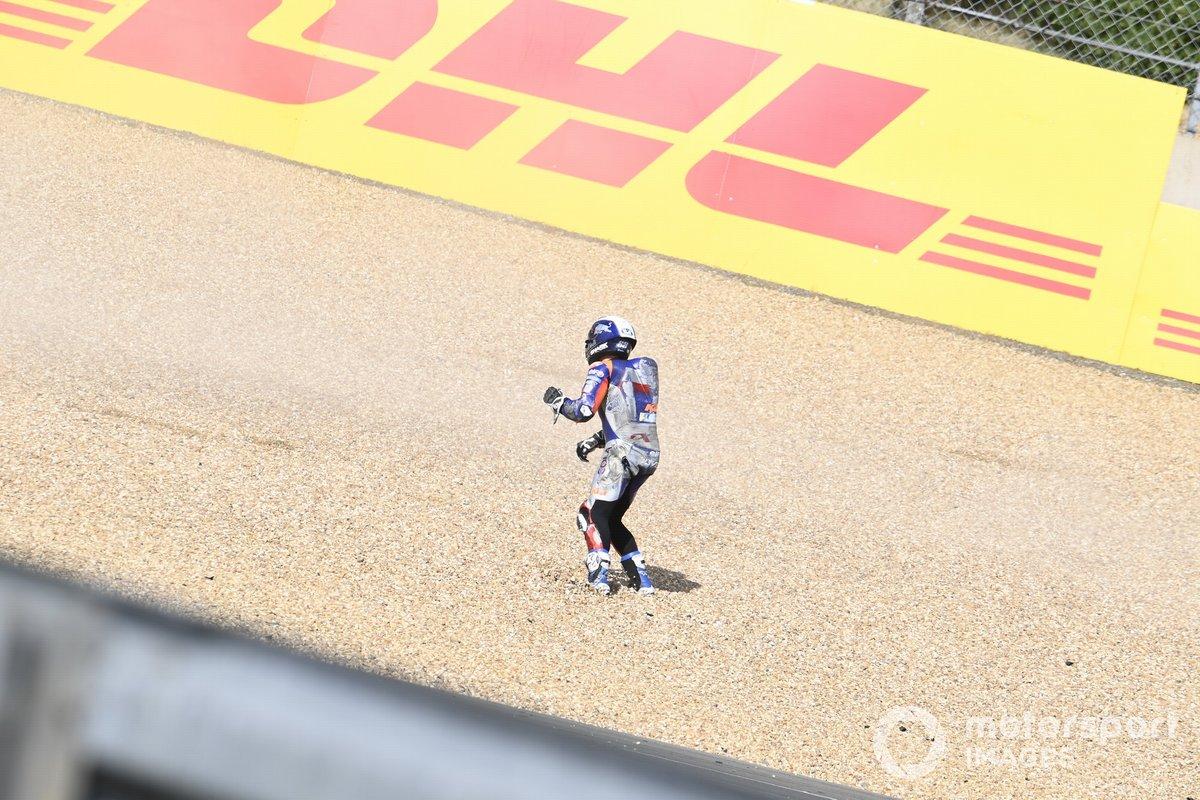 Caída de Miguel Oliveira, Red Bull KTM Tech 3