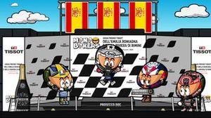 El GP de Emilia Romagna de MotoGP 2020, por MiniBikers