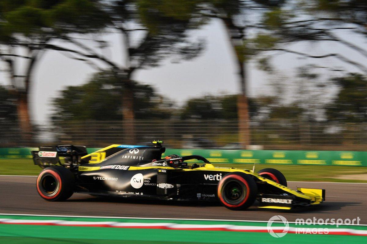 Esteban Ocon, Renault F1 Team RS20