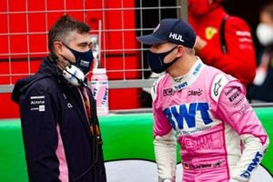 Nico Hulkenberg, Racing Point, on the grid