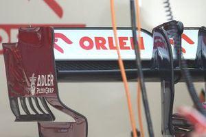 Detalle del alerón trasero del Alfa Romeo C39