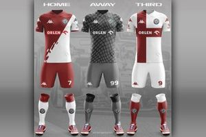 Alfa Romeo football team kit