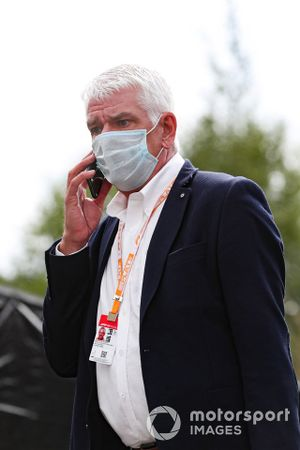 Philippe Godet, secretario adjunto del circuito, GP Sporting de Bélgica