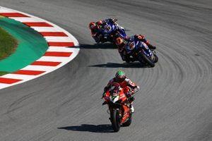 Chaz Davies, ARUBA.IT Racing Ducati, Michael van Der Mark, Pata Yamaha, Garrett Gerloff, GRT Yamaha