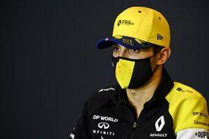 Esteban Ocon, Renault F1, in a Press Conference