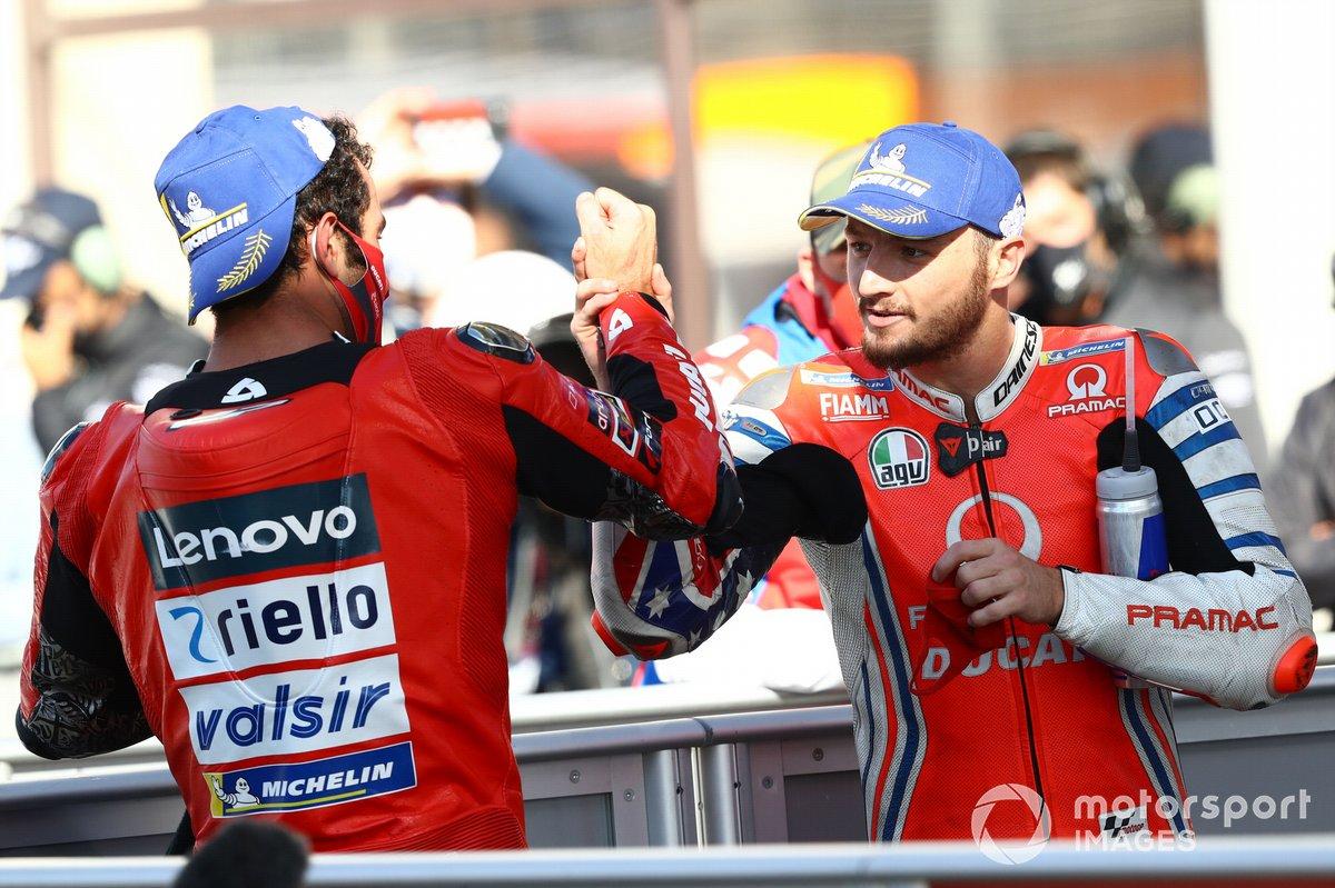 Danilo Petrucci, Ducati Team Jack Miller, Pramac Racing