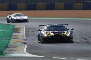 #60 Iron Lynx Ferrari 488 GTE EVO: Claudio Schiavoni, Sergio Pianezzola, Paolo Ruberti