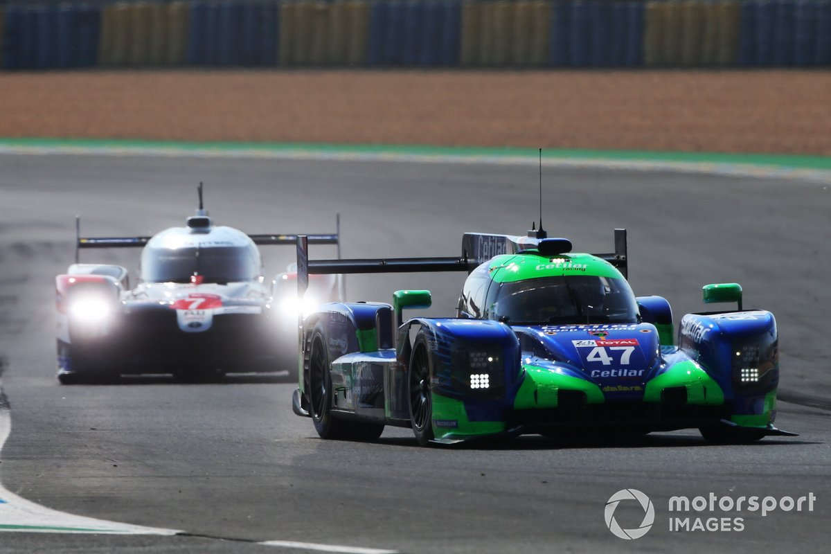 #47 Cetilar Racing, Dallara P217 - Gibson: Roberto Lacorte, Giorgio Sernagiotto, Andrea Bellichi