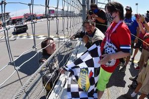 Race Winner Sheldon Creed, GMS Racing, Chevrolet Silverado