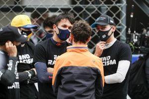Alex Albon, Red Bull Racing, Lando Norris, McLaren, George Russell, Williams Racing