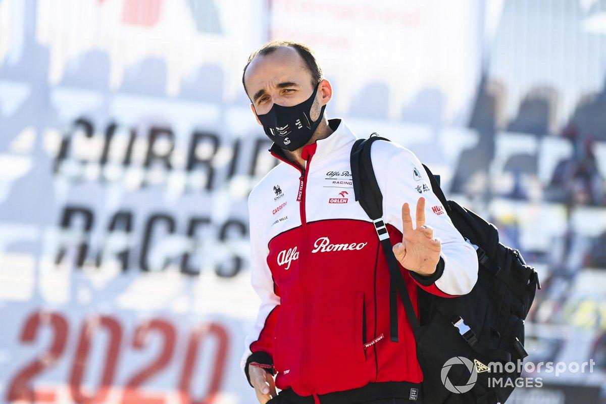 Robert Kubica, piloto de test de Alfa Romeo