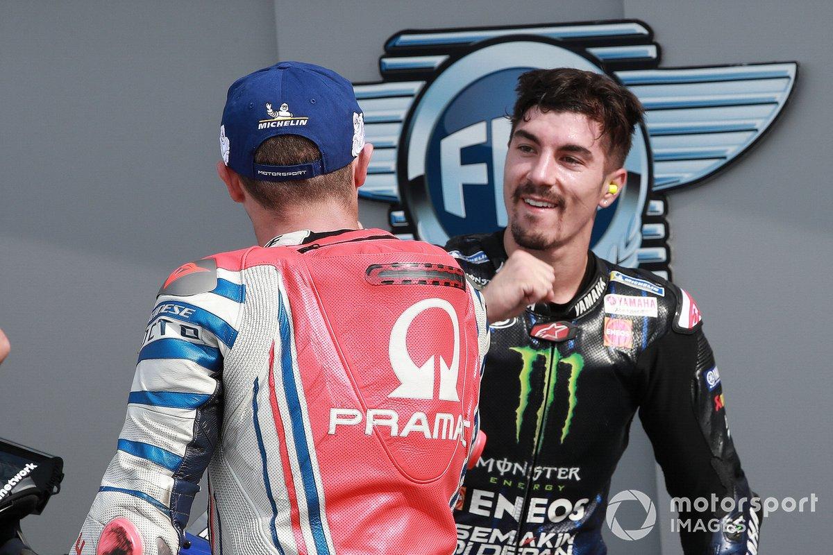 Jack Miller, Pramac Racing Maverick Viñales, Yamaha Factory Racing