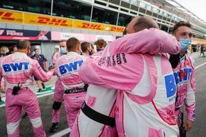 Racing Point viert de derde plaats van Lance Stroll, Racing Point