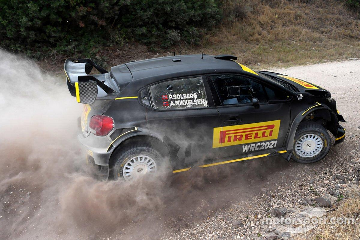Petter Solberg, Andreas Mikkelsen, Citroen C3 WRC
