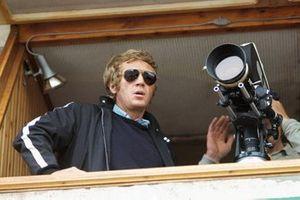 Steve McQueen durante la producción de la película