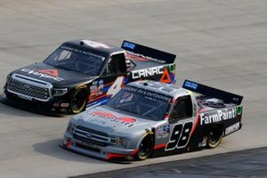 Grant Enfinger, ThorSport Racing, Ford F-150 Farm Paint/Curb Records, Raphael Lessard, Kyle Busch Motorsports, Toyota Tundra Canac