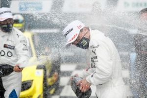 Podio: Il vincitore Lucas Auer, BMW Team RMG