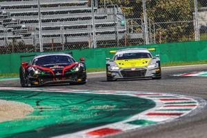 Mattia Drudi. Riccardo Agostini. Audi Sport Italia, Audi R8 LMS e Mattia Michelotto, Sean Hudspeth, Easy Race, FERRARI 488