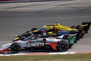 Marco Andretti, Andretti Herta with Marco & Curb-Agajanian Honda, Zach Veach, Andretti Autosport Honda